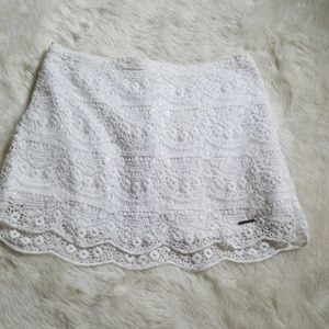 Abercrombie & Fitch Skirts - Lace mini